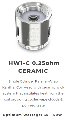 Eleaf HW Series Coils - 5 Pack