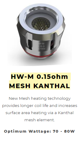 Eleaf HW M Mesh Replacement Coils