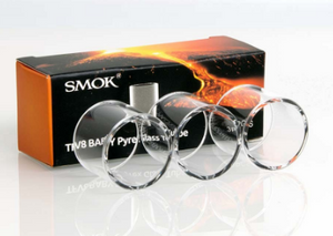3pc Glass Tubes for Smok TFV8 Big Baby Tank Atomizer