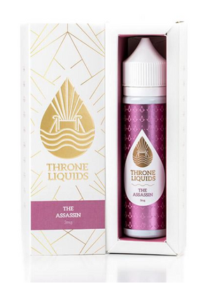 Throne E-Liquids - The Assassin - White Series