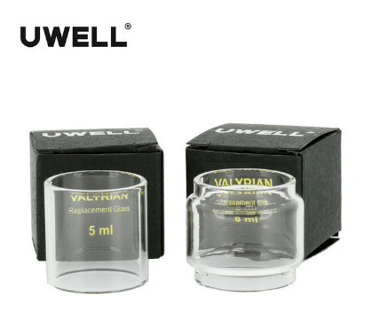 Uwell Valyrian Replacement Glass Tube 8ml and 5ml