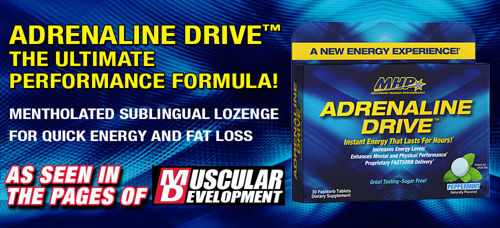 ADRENALINE DRIVE™ THE ULTIMATE PERFORMANCE FORMULA
