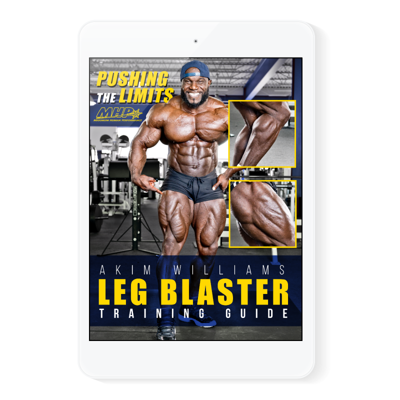 Akim Williams Leg Blaster E-Book