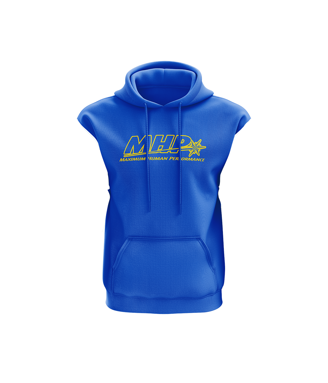 MHP Sleeveless Hoodie - Royal Blue