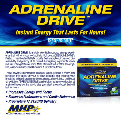 MHP Adrenaline Drive Product Points