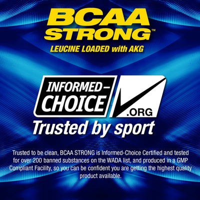 MHP BCAA STRONG Informed Choice Approved