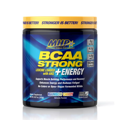MHP BCAA STRONG + ENERGY Bottle