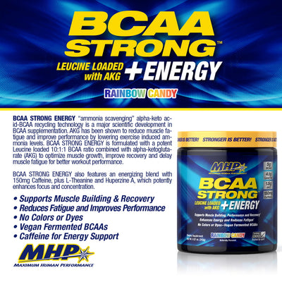 MHP BCAA STRONG + ENERGY Product Points