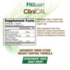 FIT&LEAN CLINICAL SUPPLEMENT FACTS