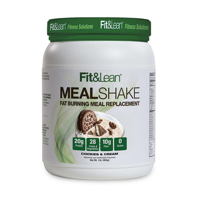 FIT & LEAN MEAL SHAKE COOKIES AND CREAM BOTTLE