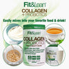 FIT&LEAN COLLOGEN AND PROBIOTICS IS EASY TO MIX