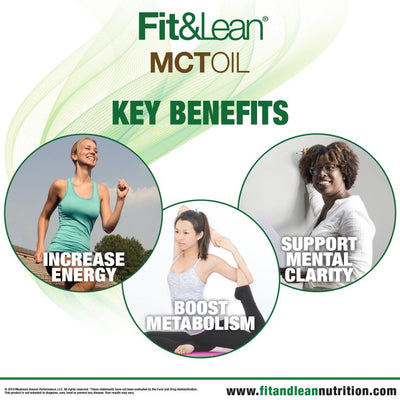 FIT&LEAN KETO MCT OIL KEY BENEFITS