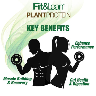 FIT&LEAN PLANT PROTEIN KEY BENEFITS CHART