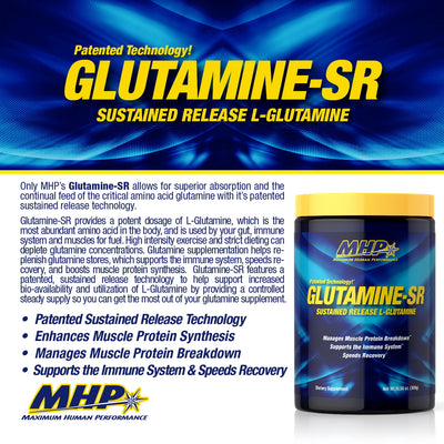Glutamine SR PRODUCT POINTS