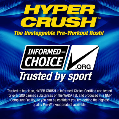 MHP Hyper Crush Informed Choice Approved
