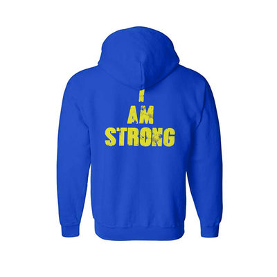 MHP I AM STRONG HOODIE BACK