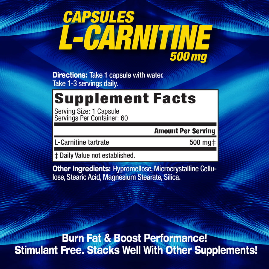 NEW MHP L-CARNITINE BOTTLE