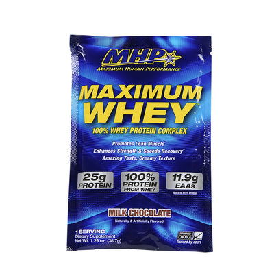 MAXIMUM WHEY CHOCOLATE SAMPLE PACK