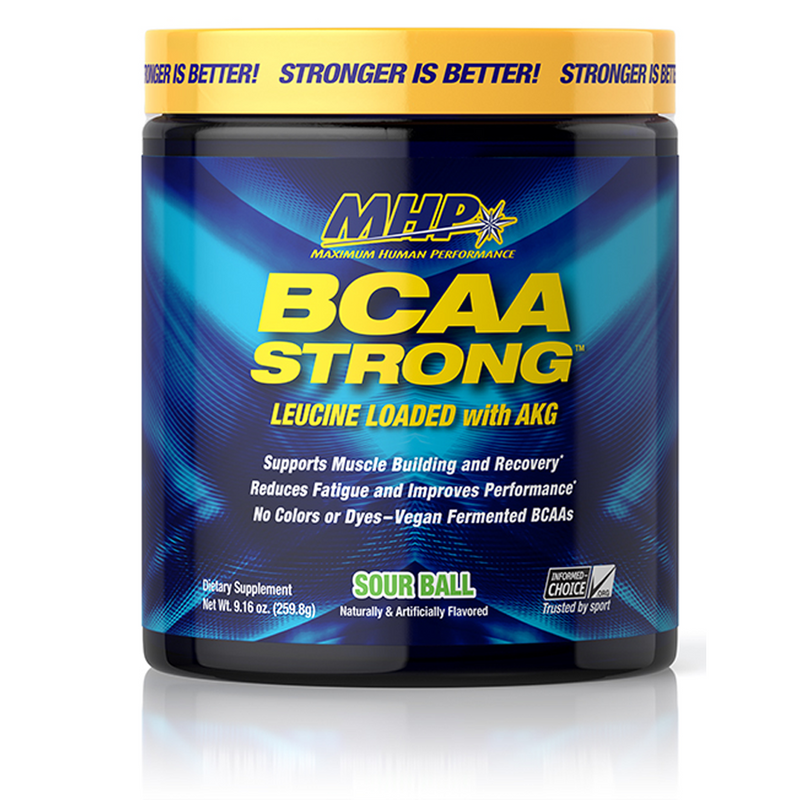 BCAA STRONG COTTON CANDY BOTTLE