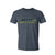 Men's Cast a Big Shadow Slate Blue T-Shirt