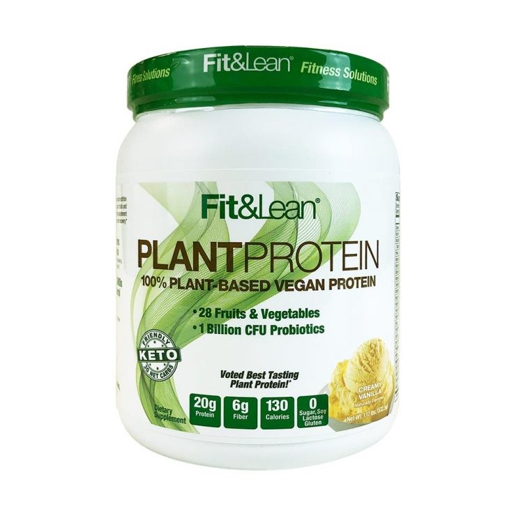 FIT&LEAN PLANT PROTEIN CHOCOLATE BOTTLE