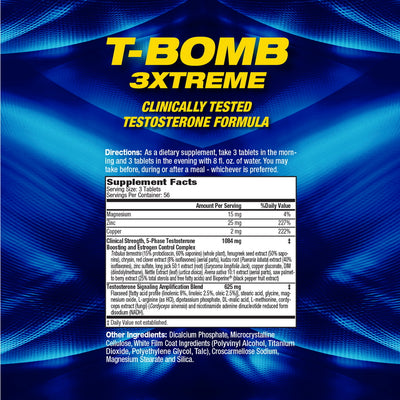 T-Bomb SUPPLEMENT FACTS