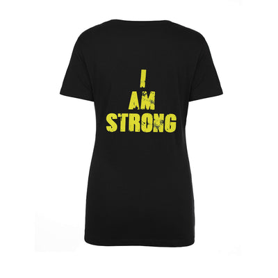 Womens MHP I AM STRONG T back