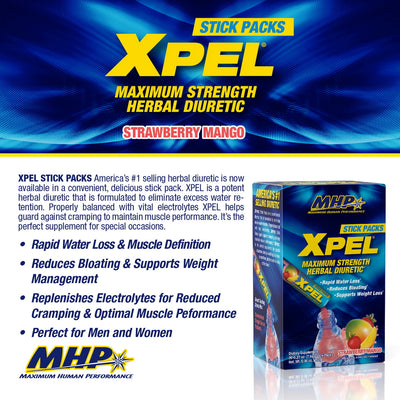 MHP Xpel Stick Packs Product Points