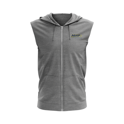 MHP Sleeveless Zip-up Hoodie