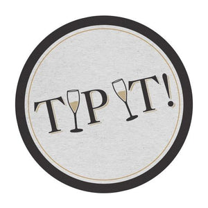 """Tip It"" Coasters (Set of 12)"