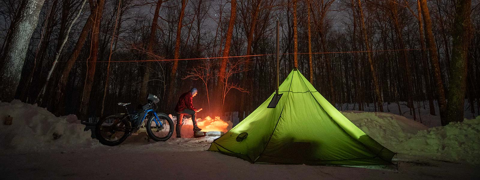 Full Spectrum Cycling #49 - Winter ROAM Camping Report and Complete Streets With Dave Schlabowske