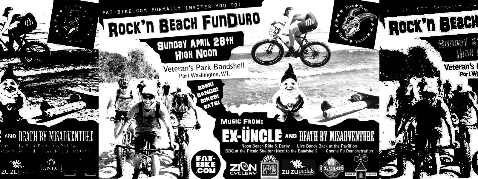 Join the Everyday Cycles Crew at The Rock'n Beach FunDuro in Port Washington