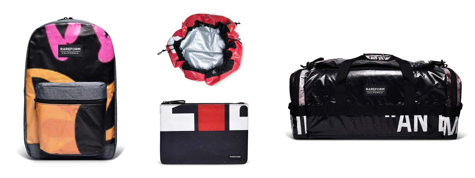 Now in! Rareform Bags Made From Repurposed Billboard Vinyl