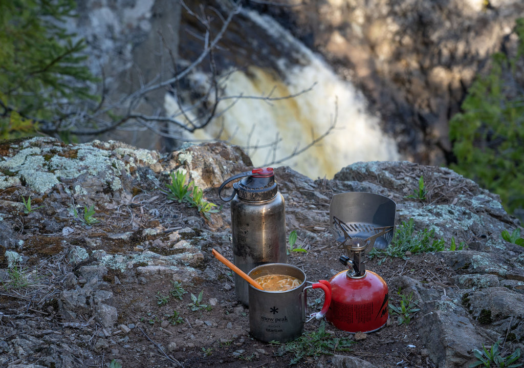 northwoods coffee bikepacking