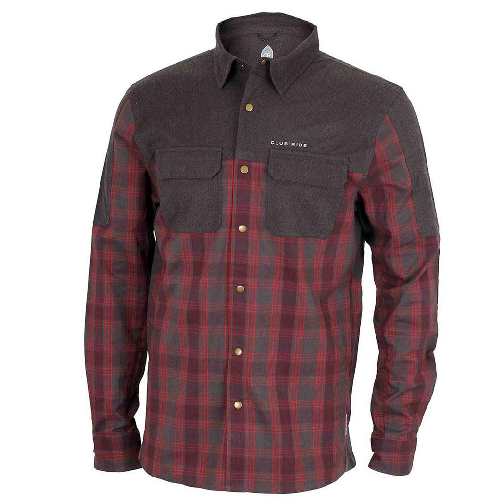 club ride jack flannel cycling shirt milwaukee
