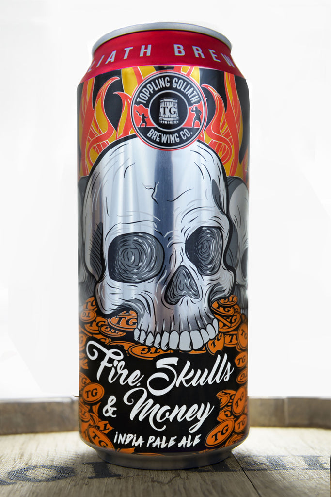 toppling goliath fire skulls and money milwaukee
