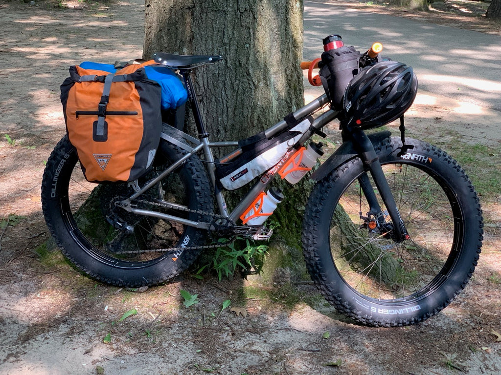 everyday cycles chumba USA ursa major titanium fatbike