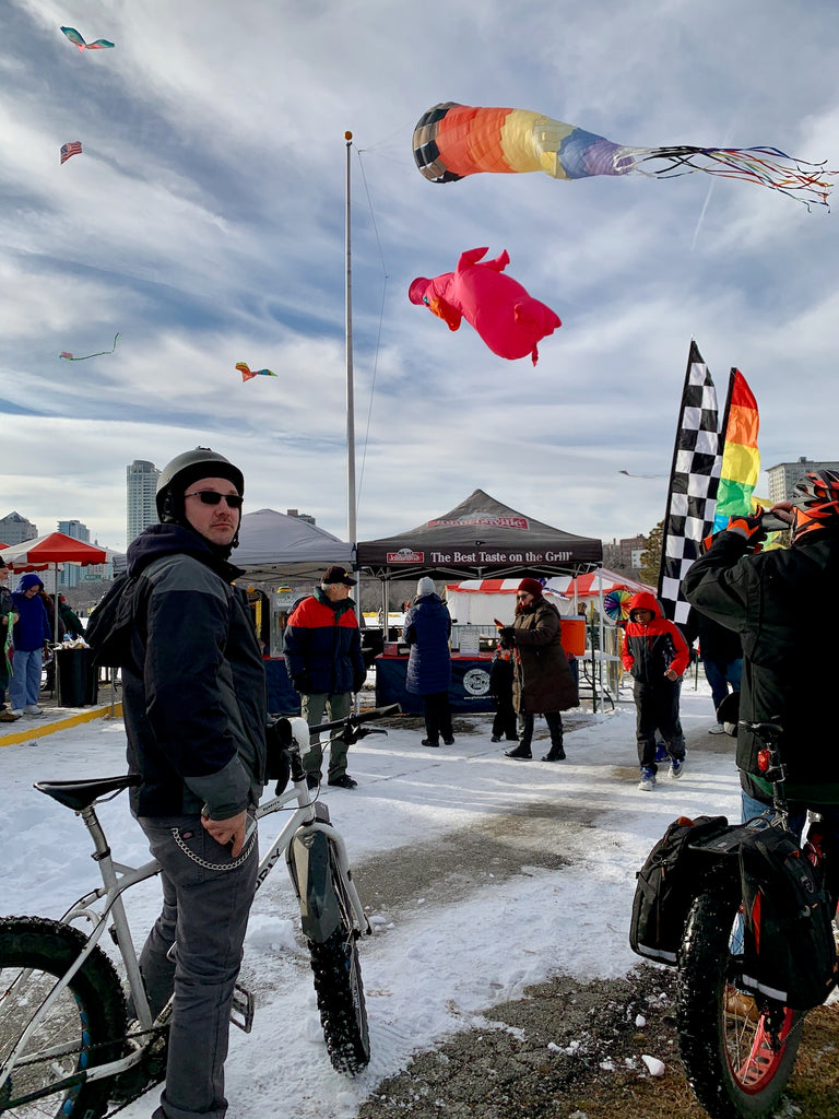 milwaukee kite festival fatbike ride