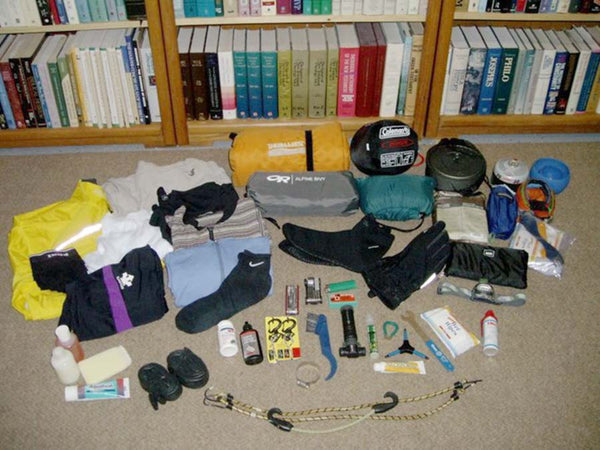 packing for bicycle touring