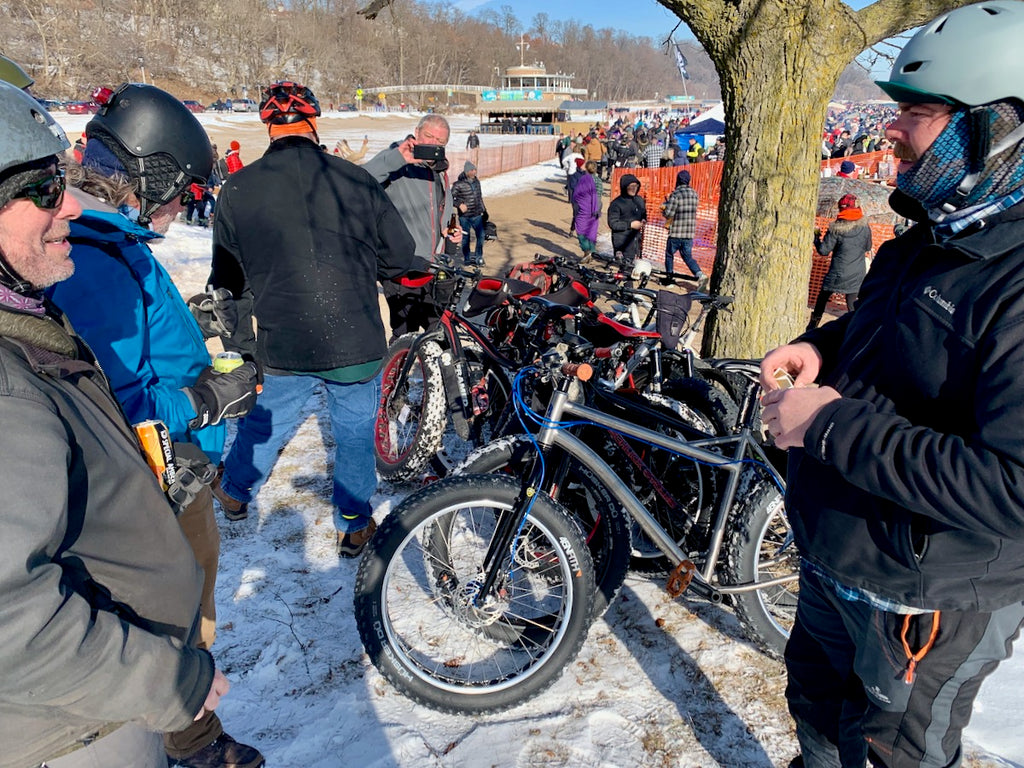 milwaukee fat bikes polar plunge