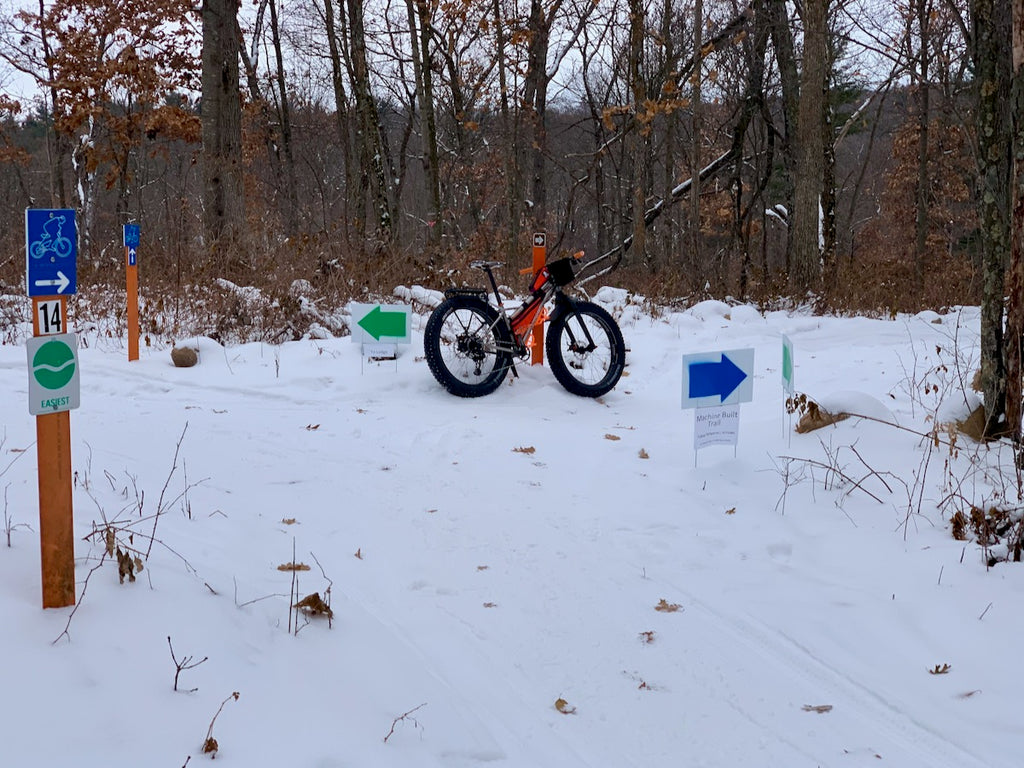 standing rock fatbike trails