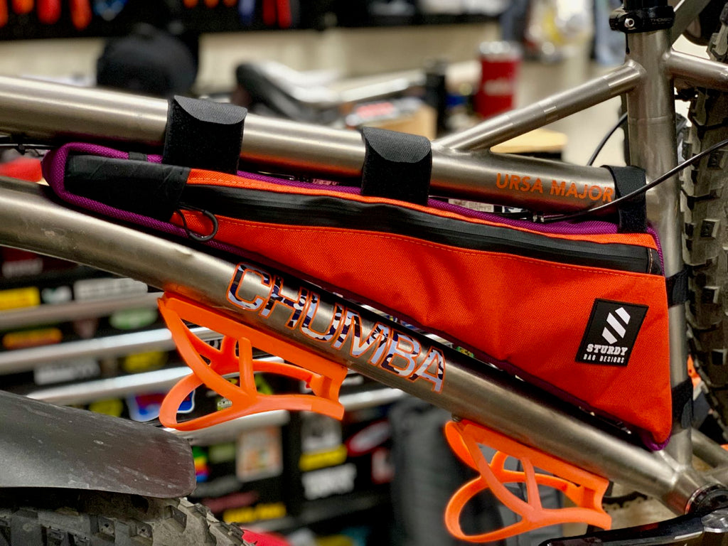 sturdy bag designs frame bag at everyday cycles
