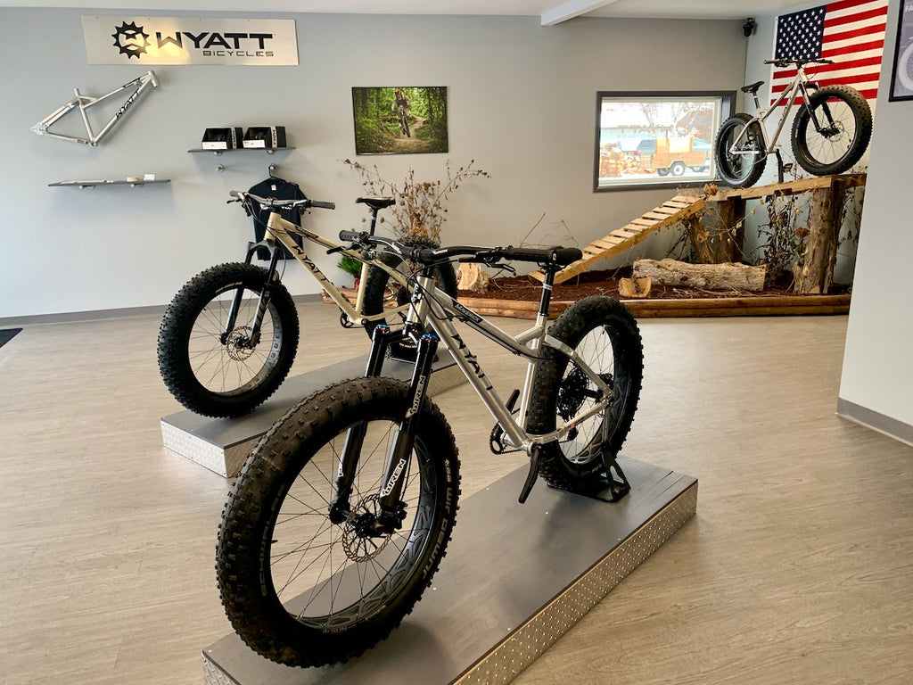 wyatt bicycles made in the USA fatbike