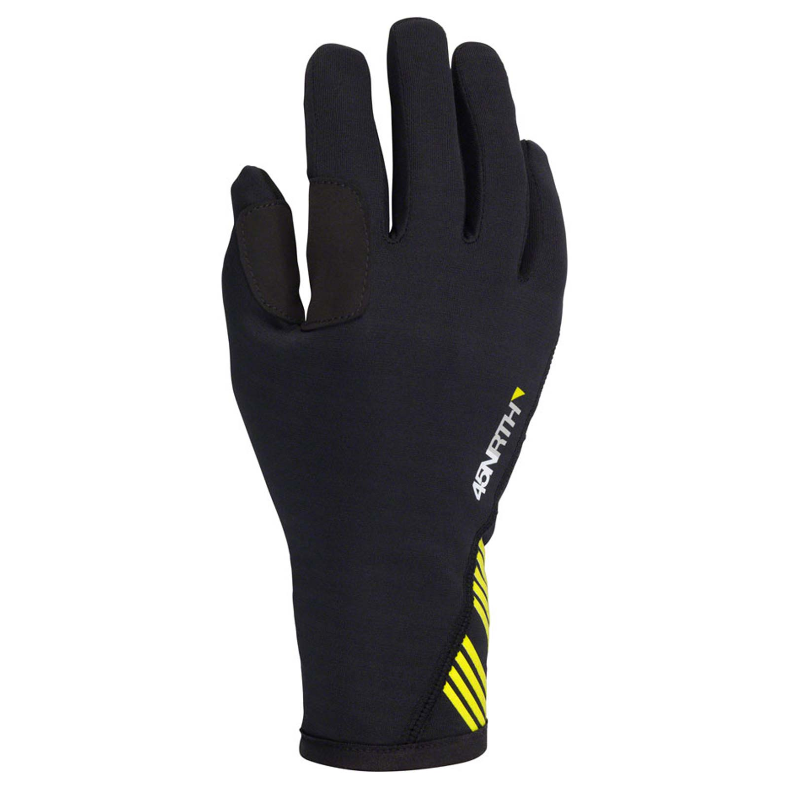 45NRTH Risor Merino Liner Cycling Gloves - Black - Full Finger