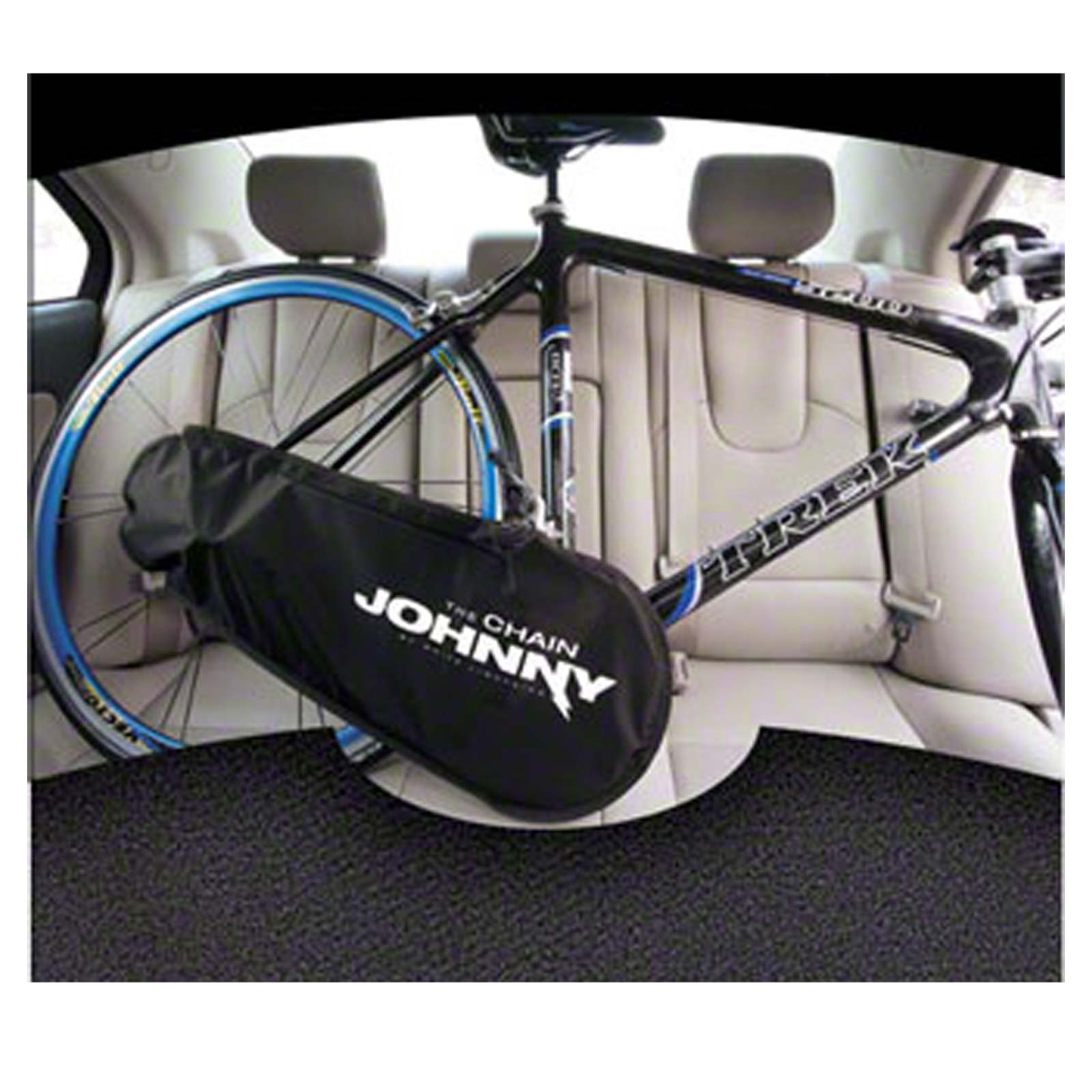 White Lightning Chain Johnny Bicycle Drivetrain Cover