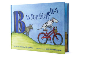 B Is For Bicycles - Buddy Pegs Book