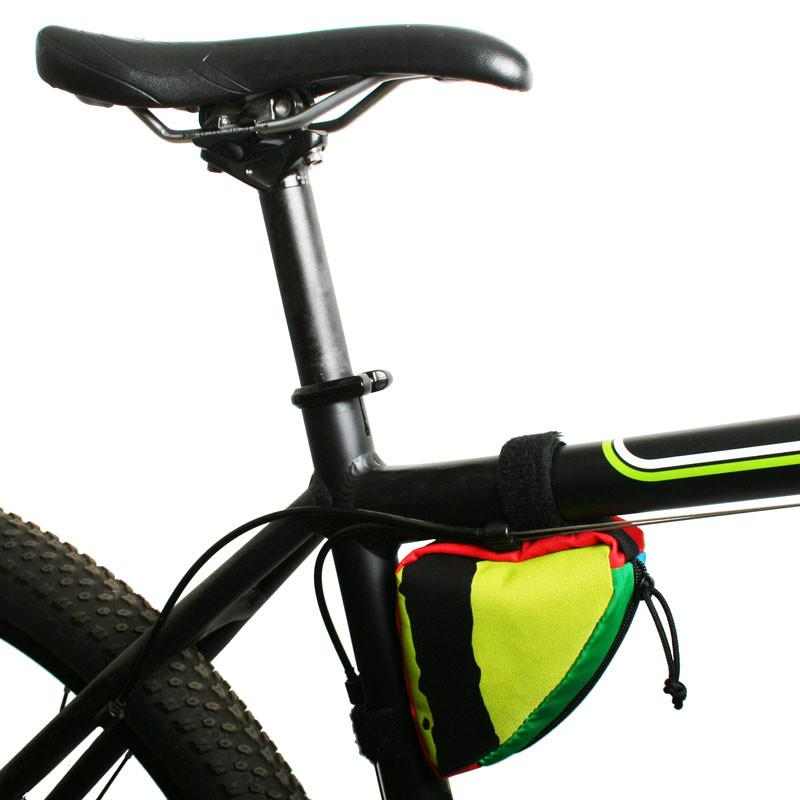 Green Guru Clincher Frame Bag Multi-Color or Black