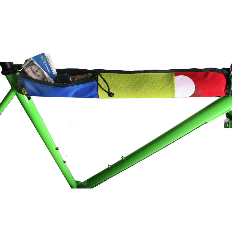 Green Guru Top Tube Protector With Stash Pocket