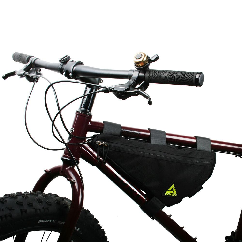 Green Guru Upshift Frame Bag - Large - Black