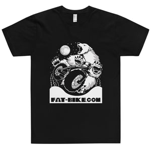 Fat-bike.com Polar Bear Tail Whip Short Sleeve American Apparel T-Shirt